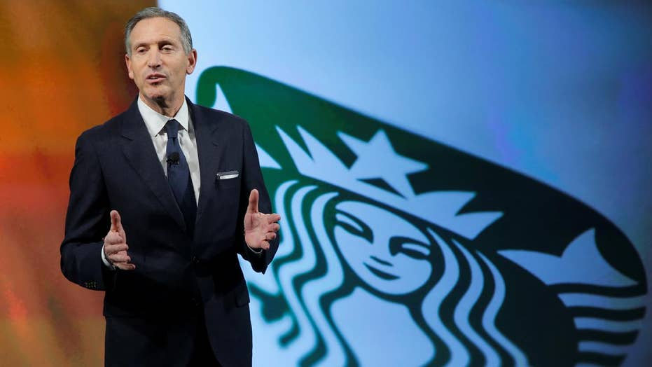 Starbucks' CEO vows to hire 10,000 refugees