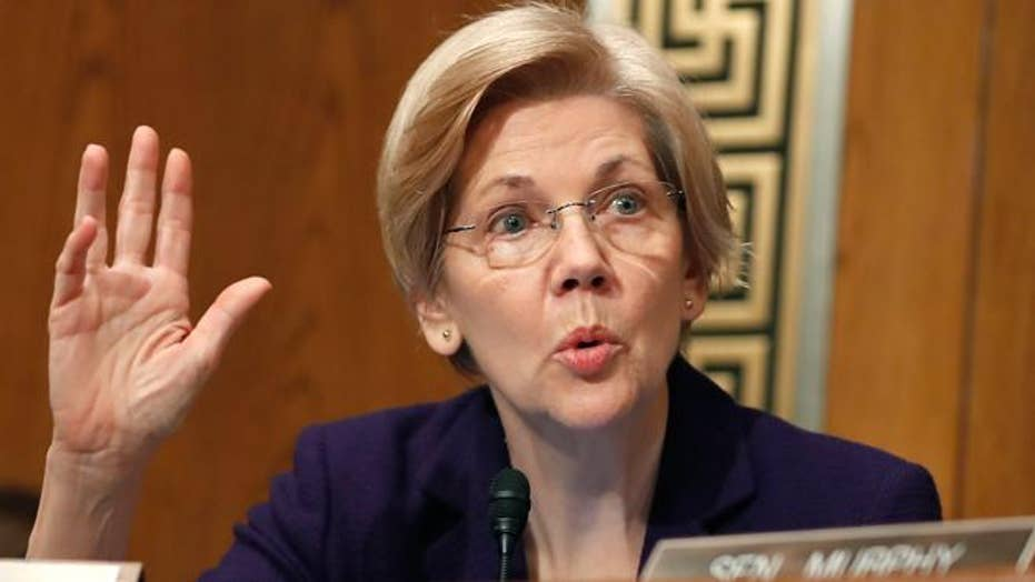 Is Elizabeth Warren in political trouble in Massachusetts?