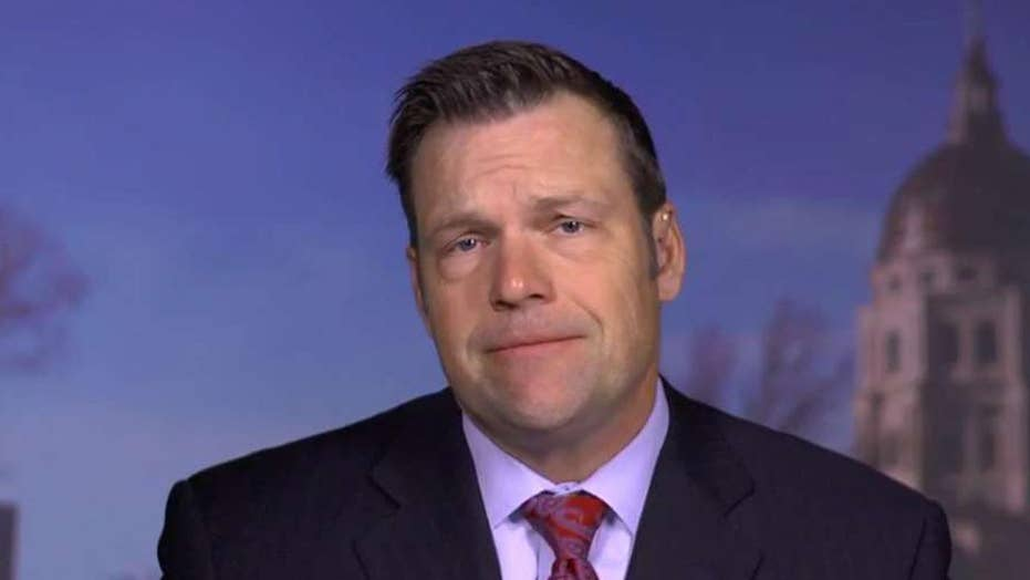 Kobach: Lawsuits to stop executive orders are 'losers'