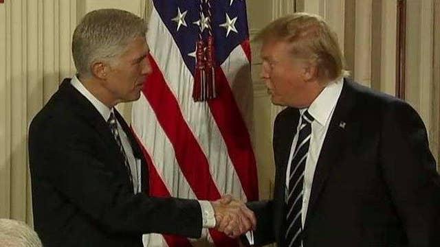 Trump taps Neil Gorsuch to fill Supreme Court vacancy