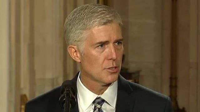 Neil Gorsuch: I am honored and I am humbled