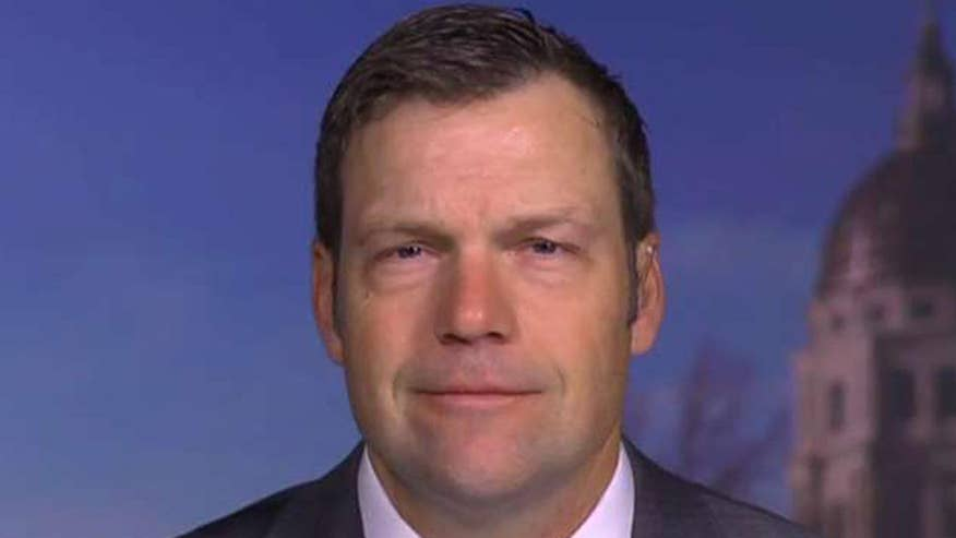 Kris Kobach addresses questions and concerns over immigration policy on 'America's Newsroom'