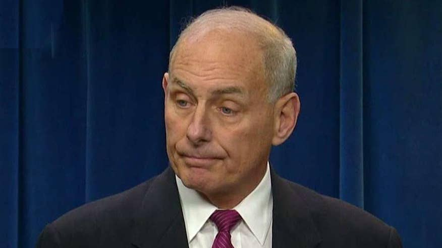 Homeland security secretary holds news conference on President Trump's executive orders on immigration
