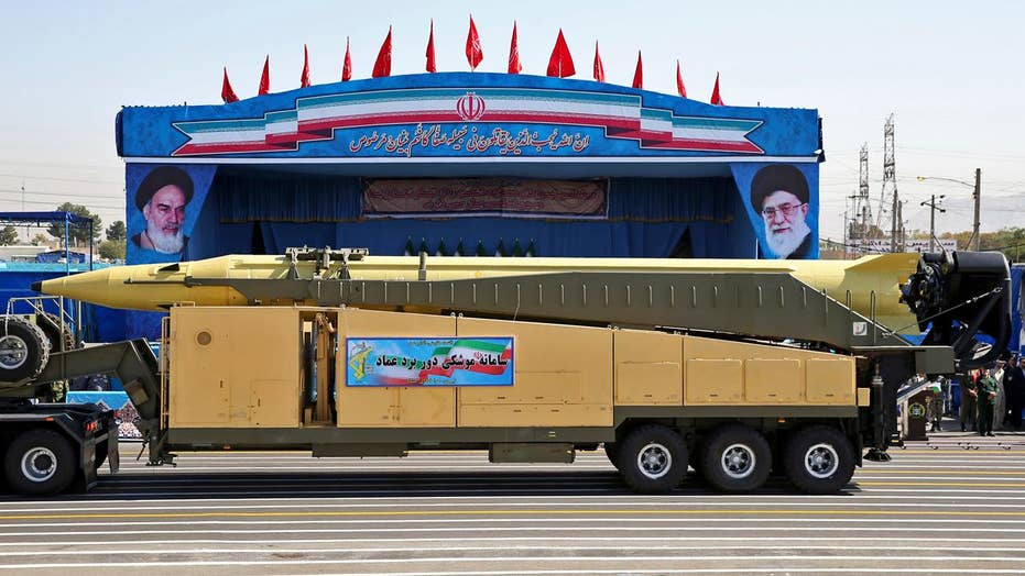 Iran test-fires missiles in violation of UN rules