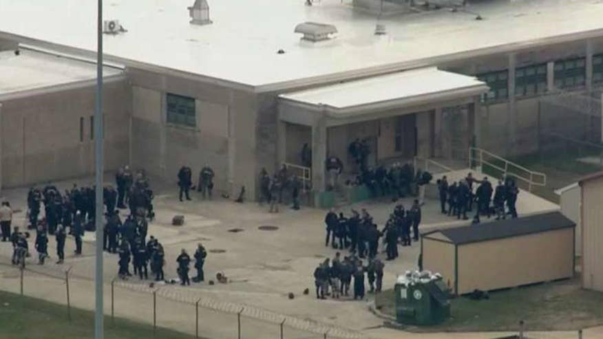 Group of inmates took guards hostage at a maximum-security prison in Smyrna, Delaware
