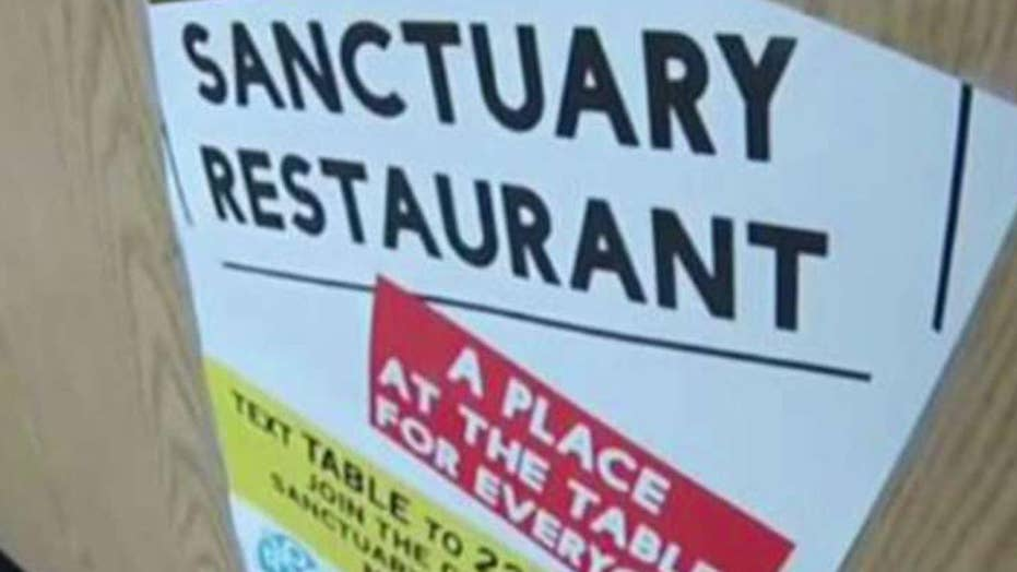 Movement growing for 'sanctuary restaurants'