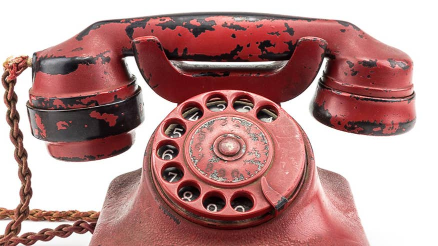 Adolf Hitler's personal phone, described as his 'mobile device of destruction' and is believed to have been used to carry out deaths of millions around the world, is up for auction