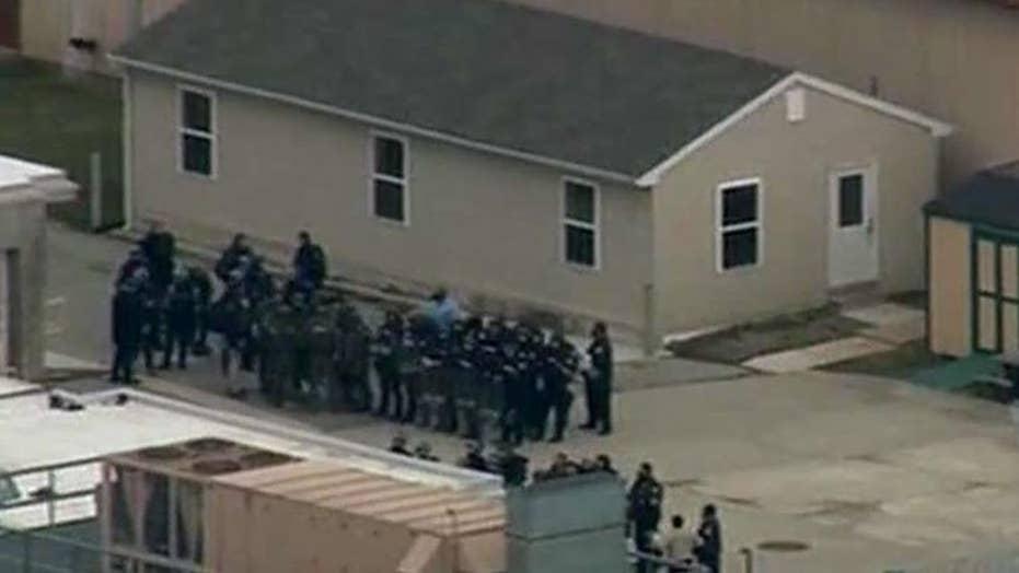 Delaware State Police clear prison uprising crime scene
