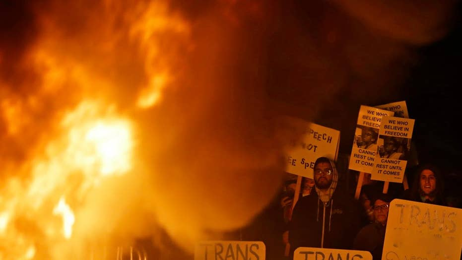 Riots sparked at UC Berkeley over alt-right speaker
