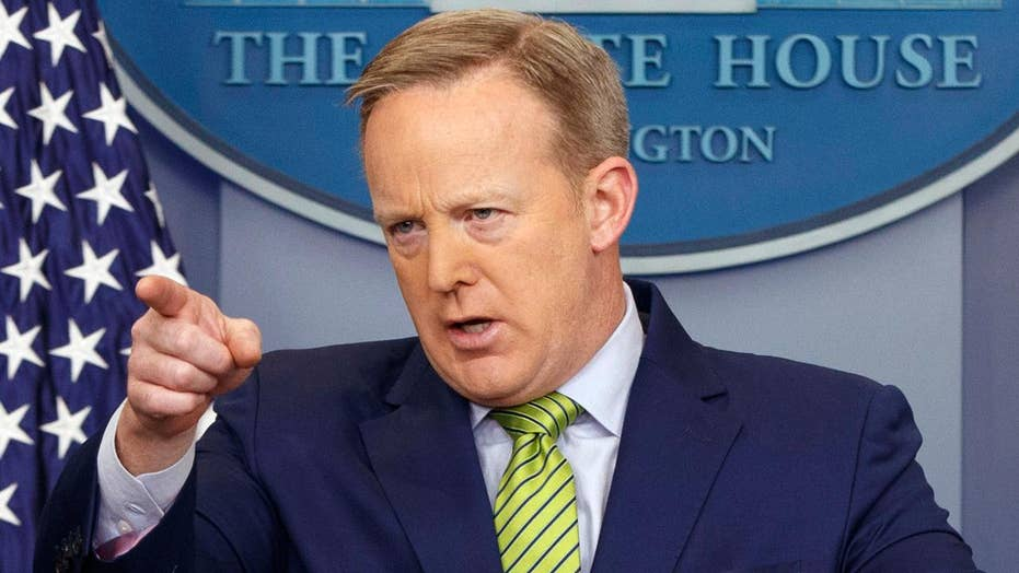 Spicer: Trump disappointed with 'horrible' refugee deal