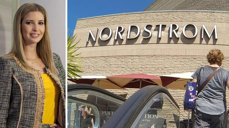 Fox411: Nordstrom drops Ivanka Trump's clothing line, accessories