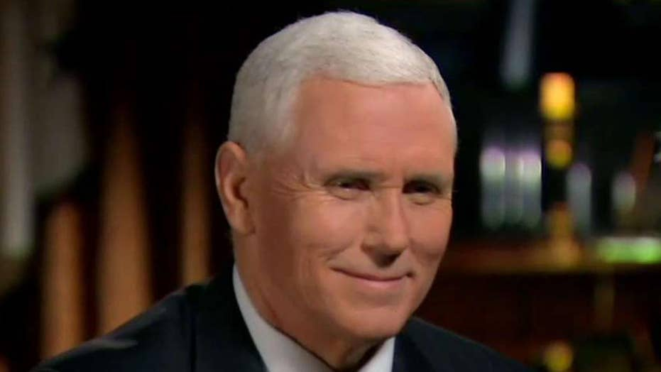 VP Mike Pence on obstruction from Dems, extreme vetting
