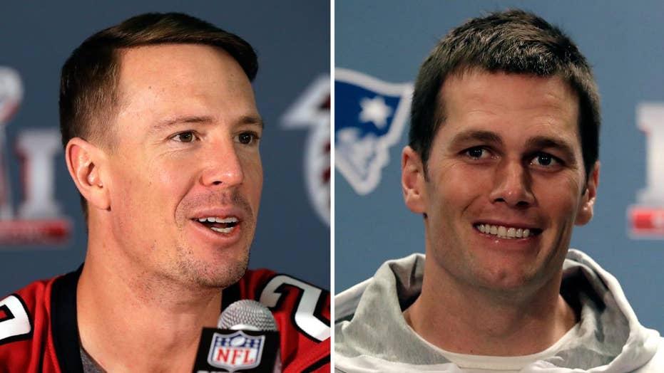 Tom Brady vs. Matt Ryan: Who's under more pressure?