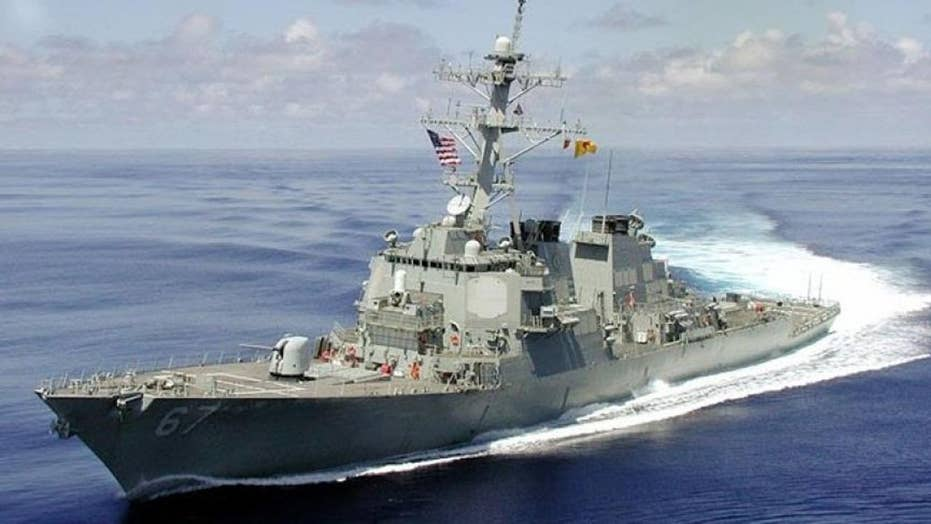 USS Cole sent to patrol off Yemen coast