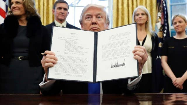 Does Trump's travel ban cause harm to the country?