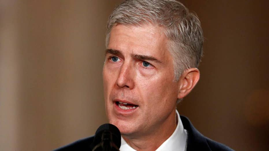 What battles lay ahead in Gorsuch's confirmation process?