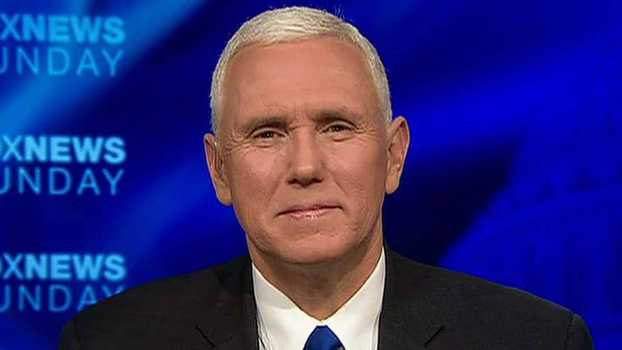 Vice president weighs in on 'Fox News Sunday'