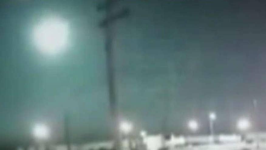 Fireball pops up on police department dashcams and security camera footage