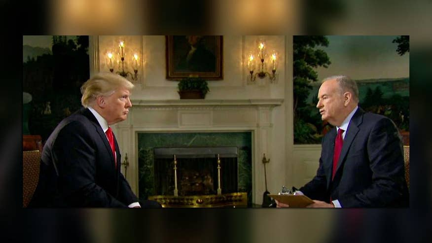 Bill and President Trump discuss Iran, Mexico and the future of healthcare on 'The O'Reilly Factor'
