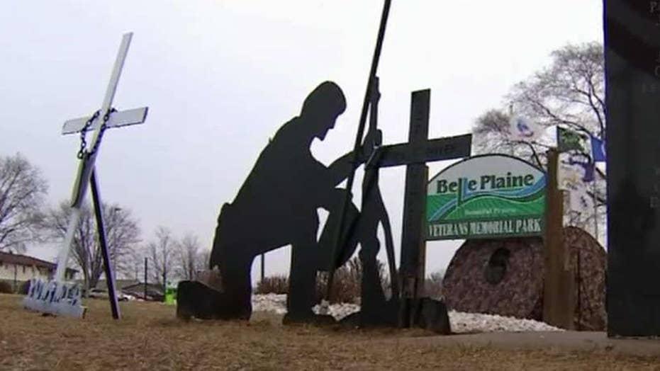 Faith wins! Cross returning to veterans memorial park
