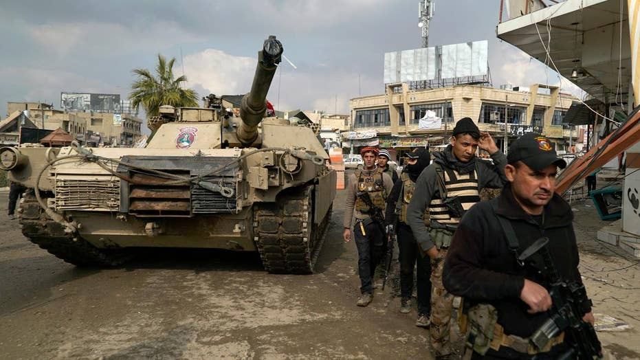 Report: Iraqis using dead bodies to intimidate ISIS in Mosul