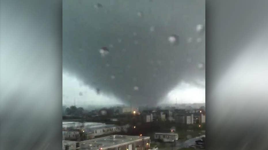 Tornado tears through New Orleans
