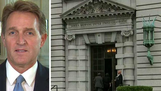 Sen. Flake on plan to break up 9th Circuit Court of Appeals