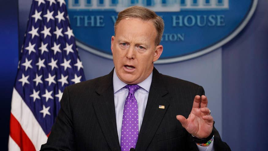 White House press secretary comments on status of executive order