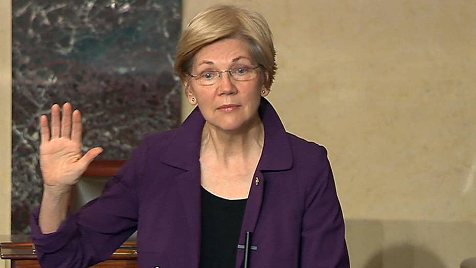 Republican senators vote to silence Elizabeth Warren