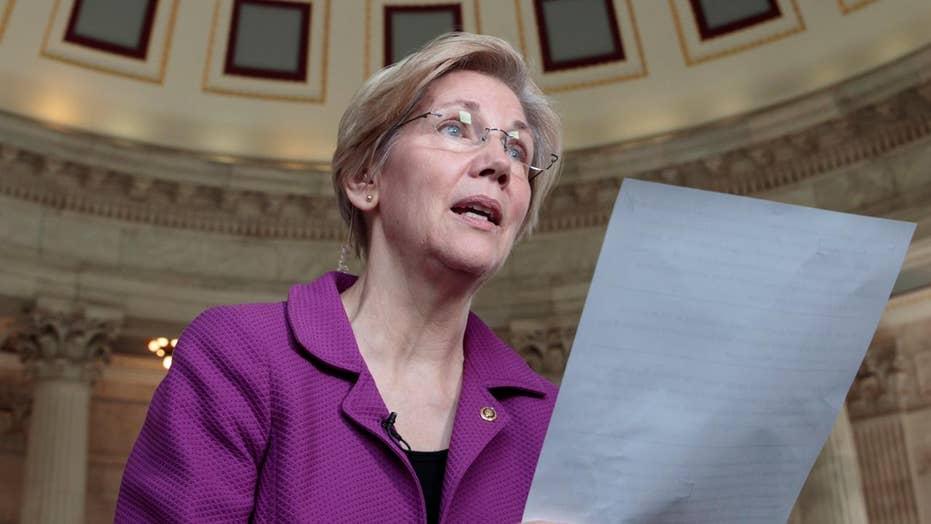 Is Elizabeth Warren putting on an act?