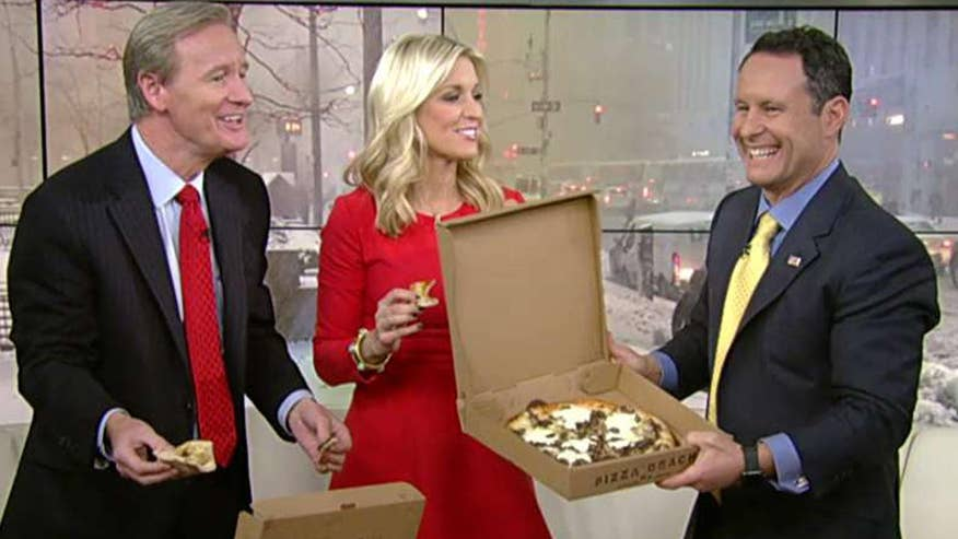 'Fox & Friends' anchors receive dozens of pizzas