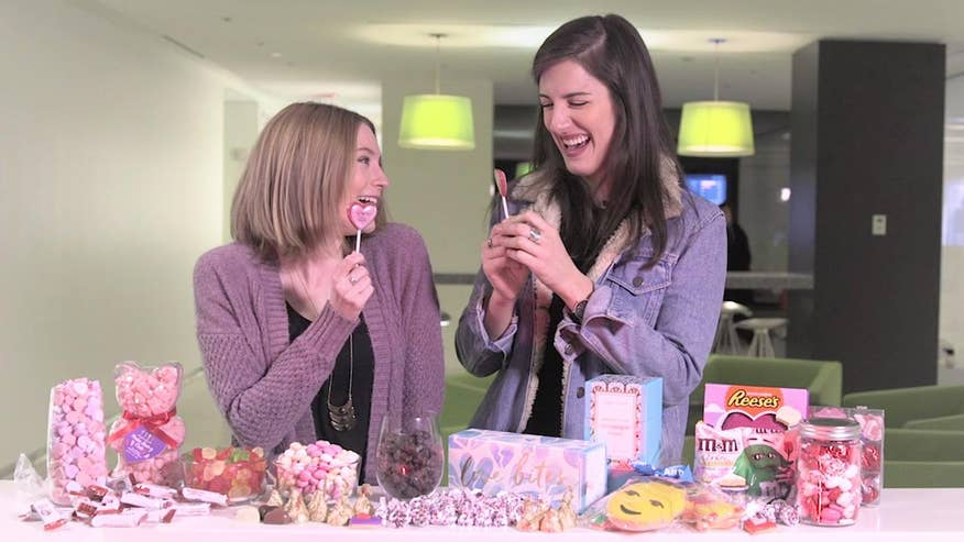 Chew On This: From Sugarfina's chocolate-covered champagne gummy bears to White Cheesecake M&Ms, we taste tested the wackiest new Valentine's Day candy