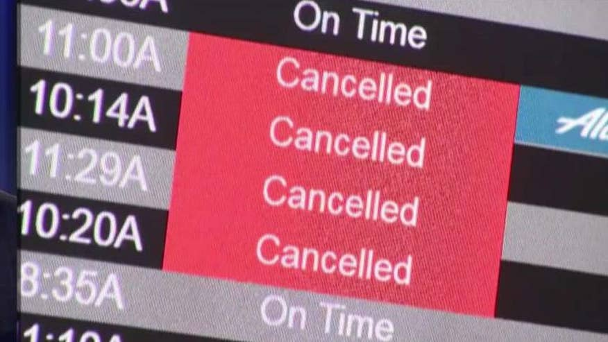 Bryan Llenas reports on travelers' frustrations from JFK airport