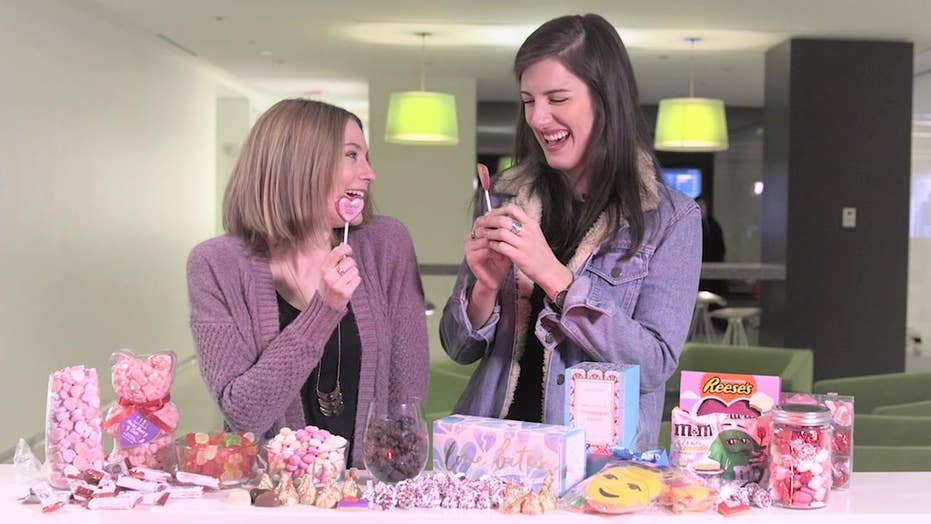 Candy makers go crazy with sugary Valentine's sweets