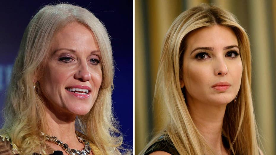Did Conway cross line by touting Ivanka Trump fashion line?