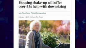 Image on U.K. article about people 55 and older angers the internet