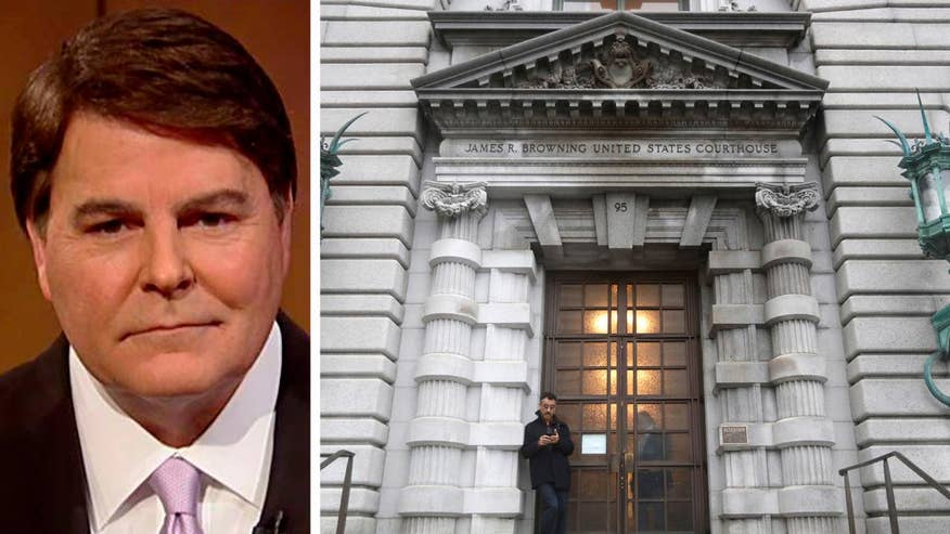 Fox News anchor and attorney breaks down the three-judge panel's decision not to lift a lower-court ruling that suspended President Trump's controversial travel ban