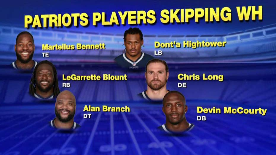 Some Patriots players plan to skip White House visit