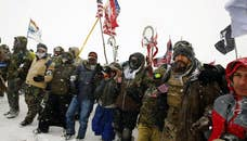 In wake of President Trump's executive actions, U.S. military veterans gearing up for second 'deployment' to Standing Rock Indian Reservation, vow to halt construction of the Dakota Access Pipeline