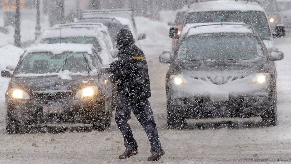 New storm batters parts of snow-ravaged Northeast
