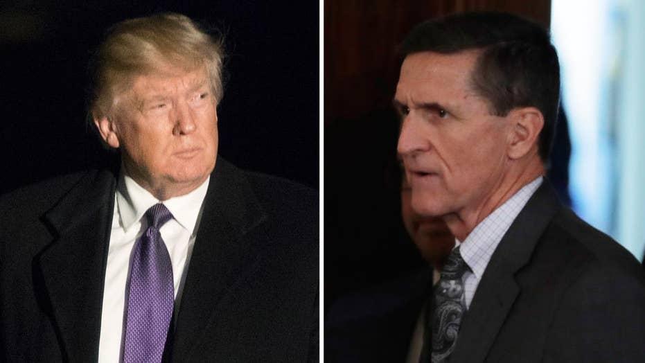 President Trump 'evaluating' Gen. Flynn situation