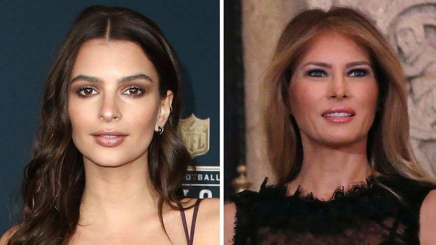 Fox411: Melania Trump offers her support to Emily Ratajkowski and all women who speak up