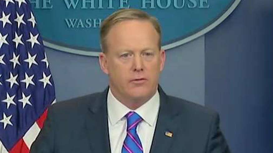 White House press secretary issues statement on national security adviser's ouster