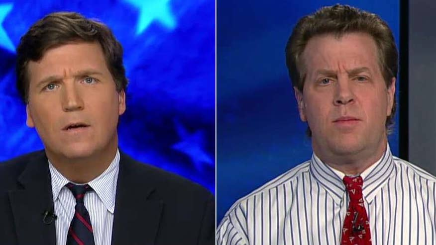 Tucker confront's Washington Post columnist Erik Wemple for media bias in his coverage of conservatives and repeated attack on Fox News #Tucker