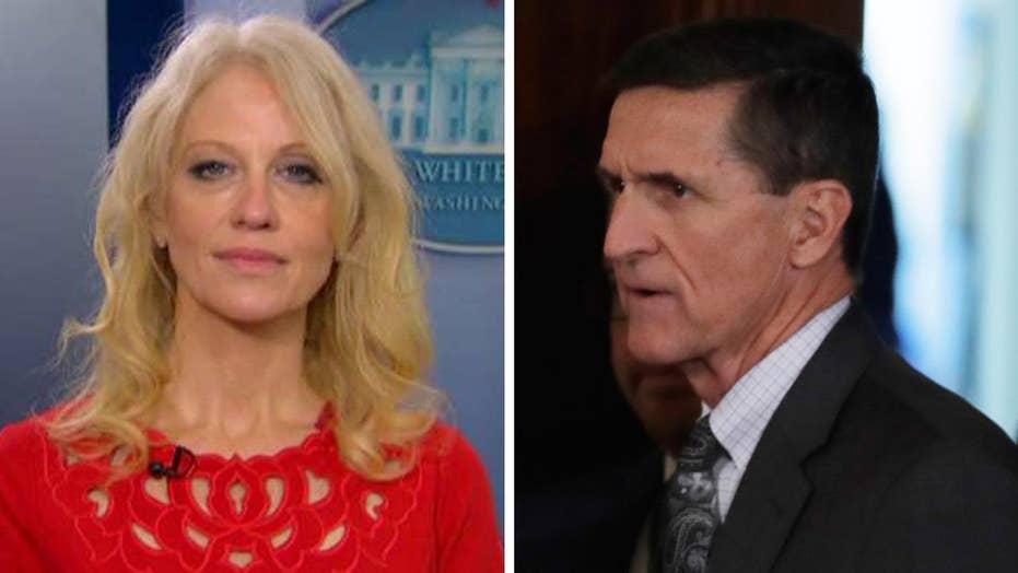 Kellyanne Conway talks timing of Flynn resignation