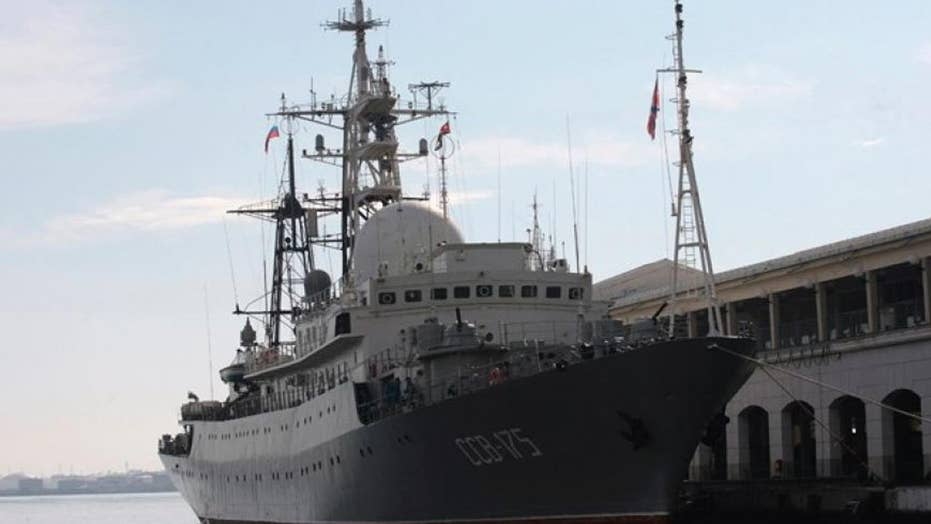 Pentagon: Russian spy ship patrolling off coast of Delaware