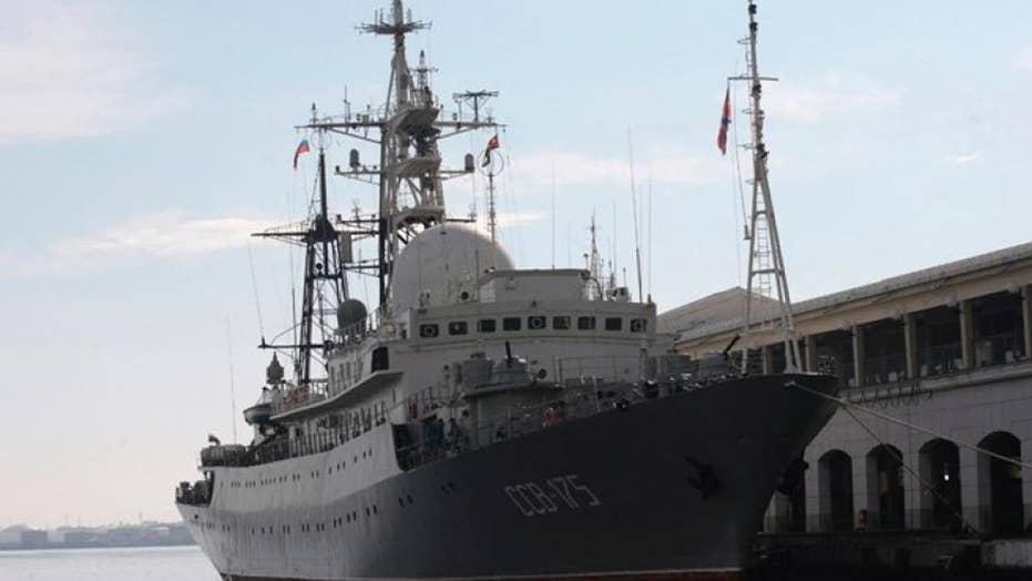 Pentagon: Russian spy ship patrolling off coast of Delaware
