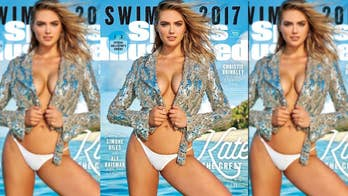 Four4Four: Kate Upton once again graces the cover of Sports Illustrated for a third time
