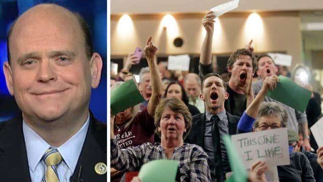 Rep. Tom Reed: Anger on the left over a threatened agenda