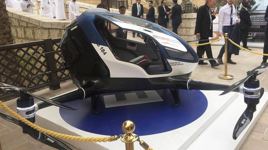 Are you ready for flying passenger drones?